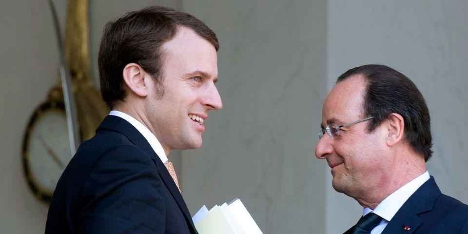 François Hollande se félicite des ambitions tempérées d'Emmanuel Macron