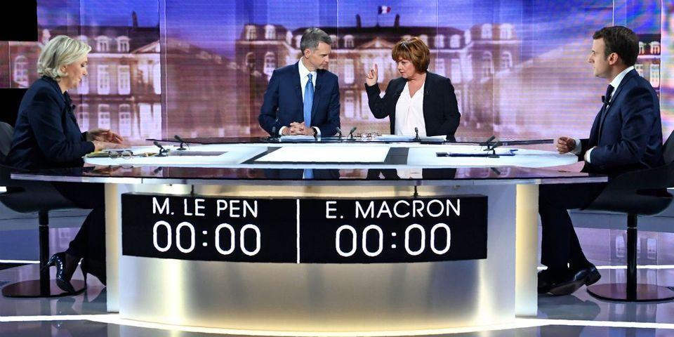 Le débat d'entre-deux-tours a réuni 16,5 millions de téléspectateurs