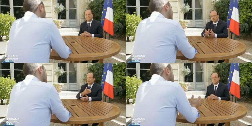 """""""Le défilé du 14 juillet sera le 14 juillet"""", assure François Hollande, même si la France devient championne du monde de football le 13 juillet"""