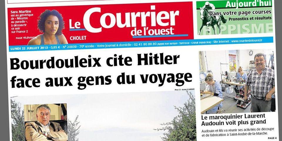 """Le député-maire UDI Gilles Bourdouleix sur les gens du voyage : """"Comme quoi, Hitler n'en a peut-être pas tué assez..."""""""