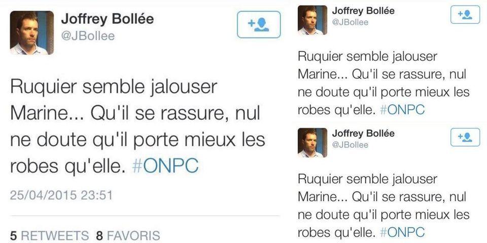 """Le directeur de cabinet de Florian Philippot plaide """"l'humour"""" après avoir effacé un tweet homophobe"""