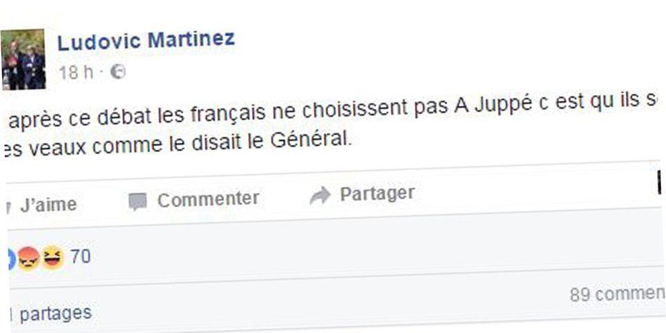 """Le directeur de cabinet de Juppé estime que """"si les Français ne le choisissent pas, c'est qu'ils sont des veaux"""", puis s'excuse"""
