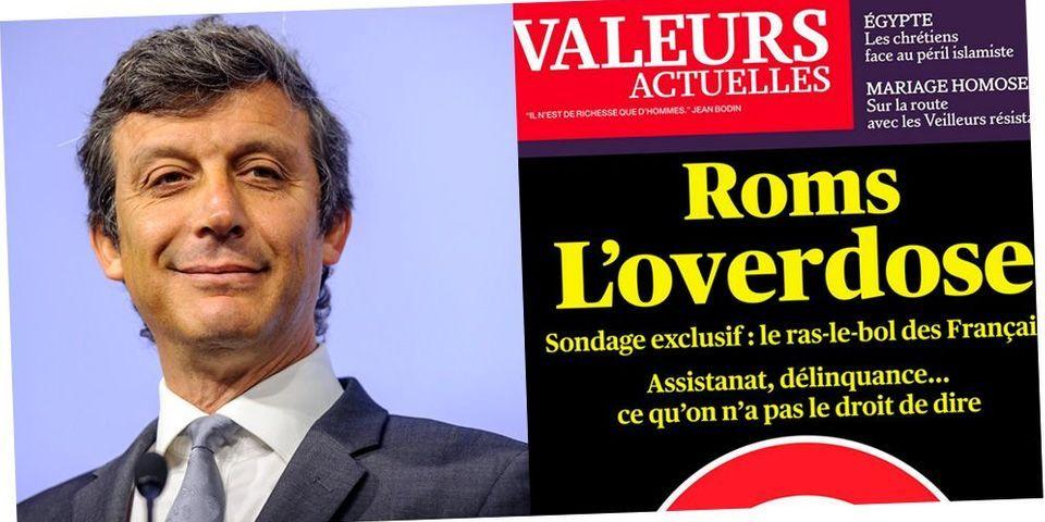 """Le directeur de Valeurs actuelles, rebaptisé """"Valeurs poubelle"""", estime que David Assouline """"ne représente rien"""""""