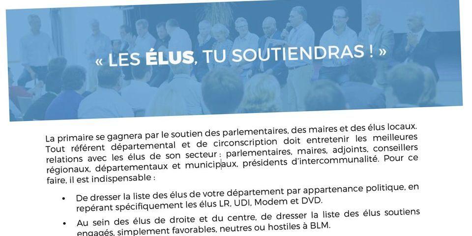 Le document qui montre que Bruno Le Maire a déjà lancé sa campagne pour la primaire de la droite