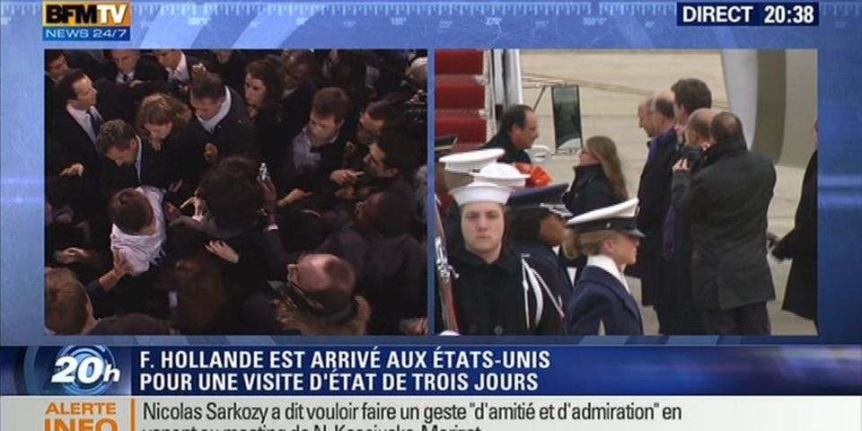 Le face-à-face Nicolas Sarkozy - François Hollande