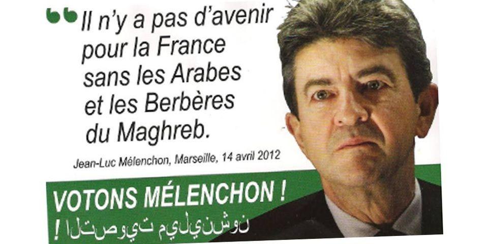 Le faux tract de Mélenchon à Hénin-Beaumont