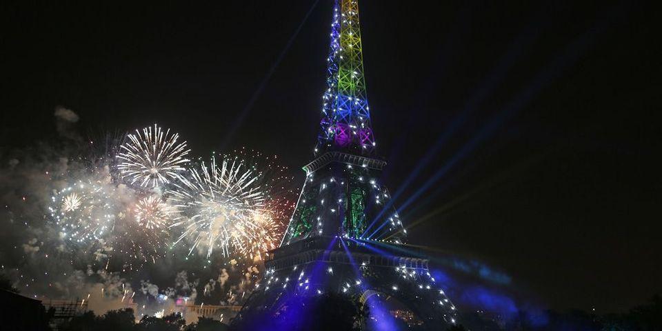Le feu d'artifice arc-en-ciel de la Tour Eiffel, sujet le plus lu de la semaine sur le Lab