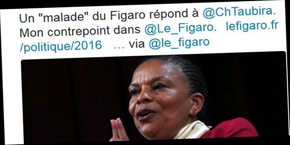 """Le Figaro répond aux attaques de Christiane Taubira et dénonce un """"procès stalinien"""""""