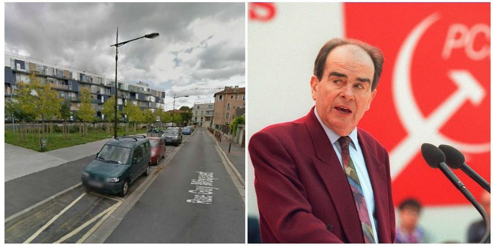 Le FN défend l'esplanade Georges Marchais à Villejuif