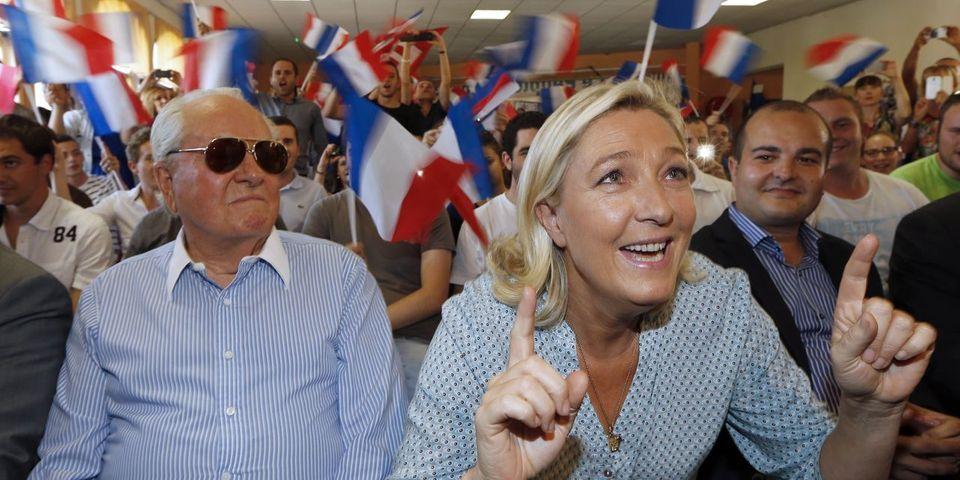 Le FN publie les résultats du congrès postal : 94% des militants ayant voté veulent l'éviction de Le Pen