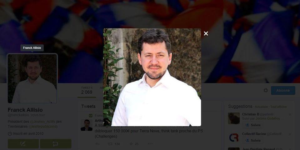 Le FN recrute Franck Allisio, le président des Jeunes Actifs de Les Républicains