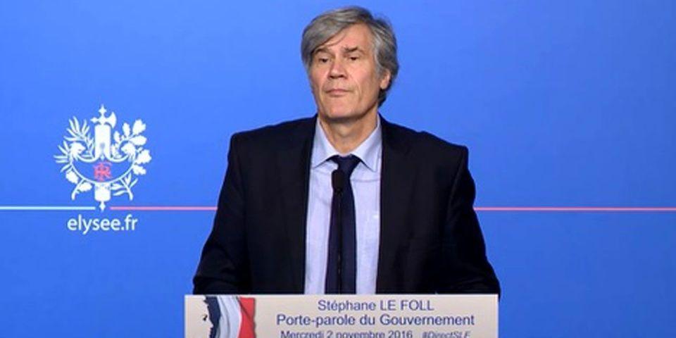 """Le Foll demande à Le Maire, Wauquiez et ceux qui ne respectent pas Hollande, """"de la fermer"""""""
