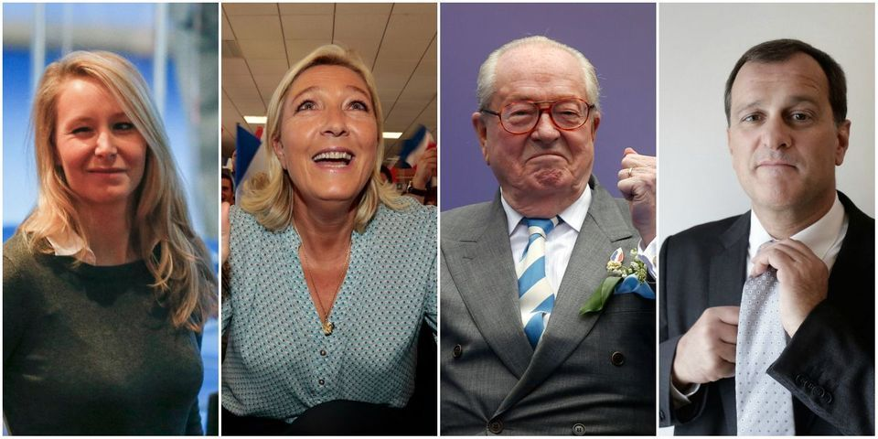 Le Front national ou Le Pen & Co., entreprise familiale