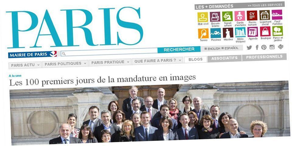 Le geste d'Anne Hidalgo envers l'opposition qui va avoir son espace d'expression sur Paris.fr