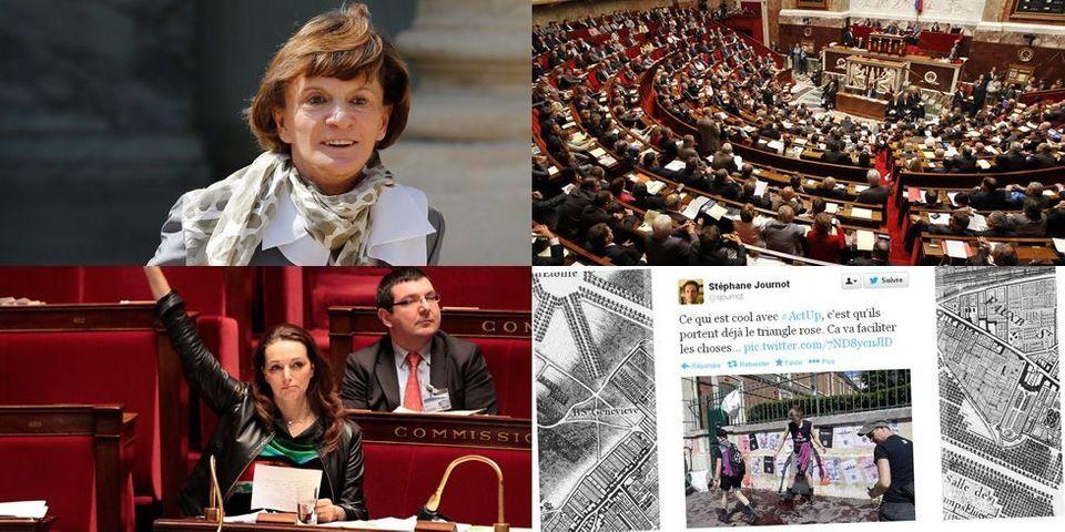Le Grand Surf : les petits problèmes de l'UMP sur Twitter, la laborieuse digitalisation de la réserve parlementaire et la carte postale de la ministre-blogueuse Michèle Delaunay