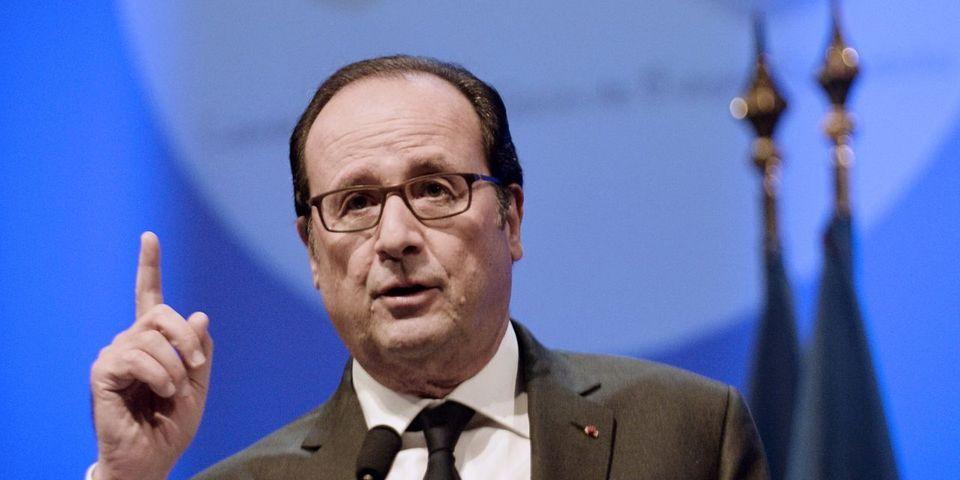 """Le gros avertissement de Hollande à Macron pour le 2nd tour face à Le Pen : """"Un vote, ça se mérite"""""""