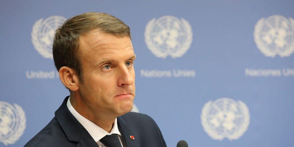 """VIDÉO - Le gros lapsus d'Emmanuel Macron sur """"la sortie de l'état de droit"""""""