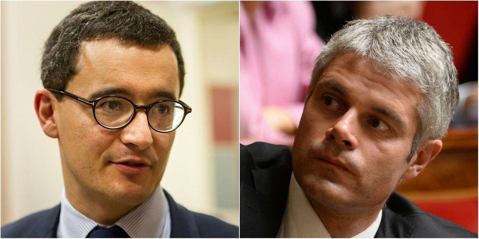 """Le gros scud du sarkozyste Darmanin à Wauquiez, autoproclamé """"héritier"""" de Sarkozy"""