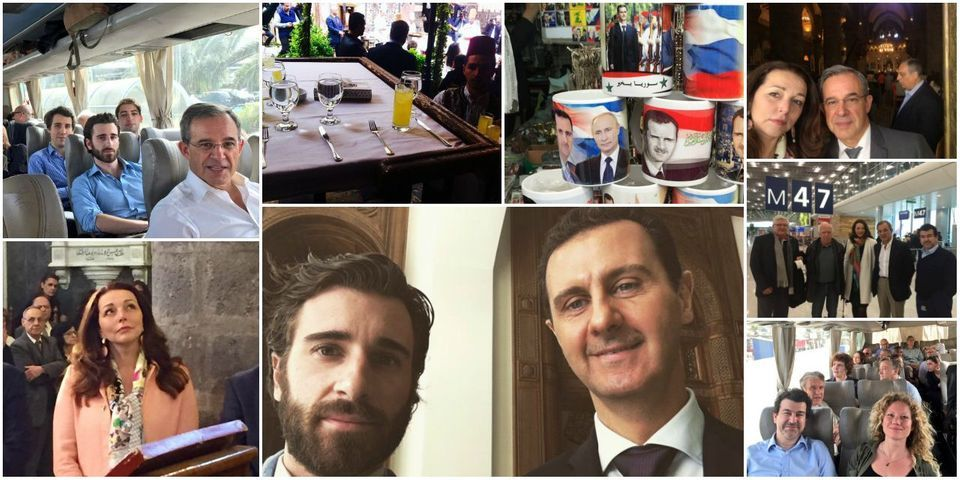 L'album de vacances de députés LR et de l'ex-président du FNJ en week-end chez Bachar al-Assad