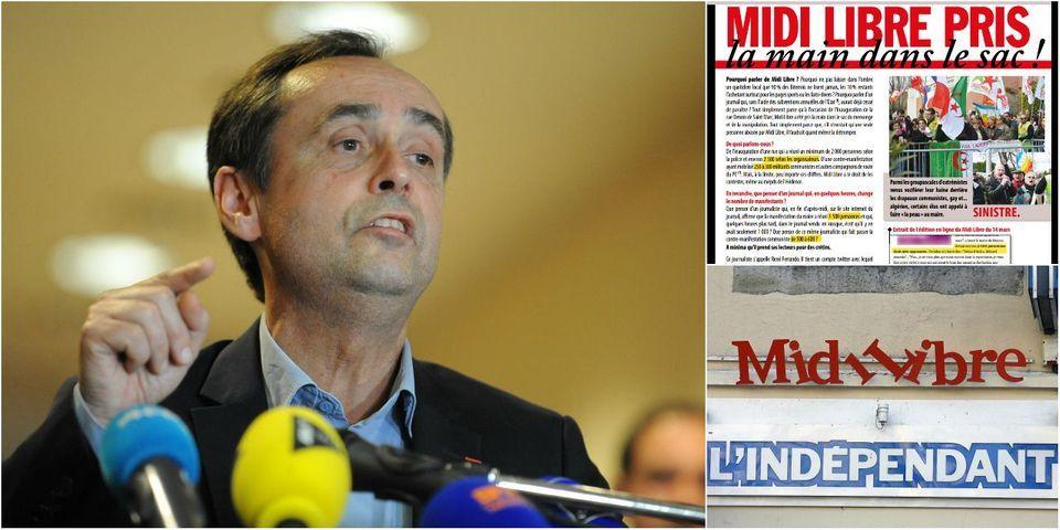 Le journal municipal de Béziers s'attaque à un journaliste de Midi Libre