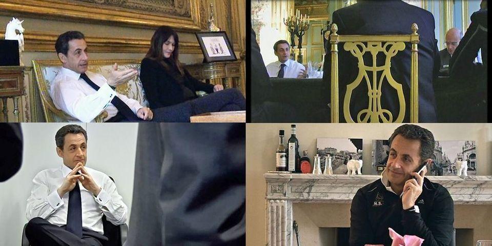 """Le Lab a pu voir le documentaire """"Campagne intime"""" sur Nicolas Sarkozy : morceaux choisis"""