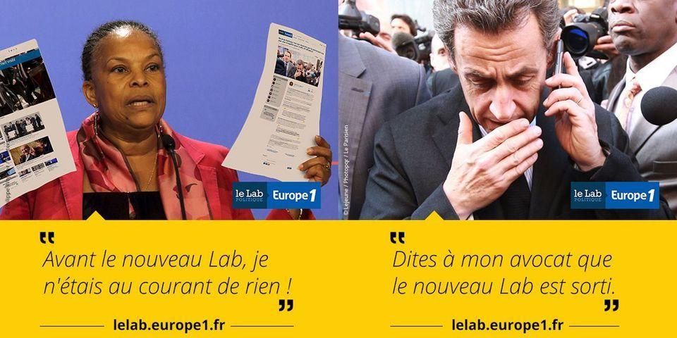 Le Lab en campagne, épisode 2, feat. Christiane Taubira, Nicolas Sarkozy et Arnaud Montebourg