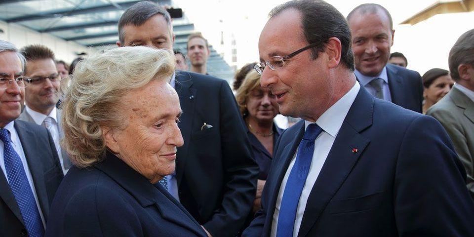 Le lobbying de Bernadette Chirac, très en colère, auprès de Manuel Valls et François Hollande contre la suppression de son canton