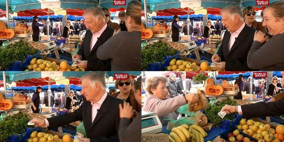 Le maire d'Ajaccio paye les courses de ses électeurs