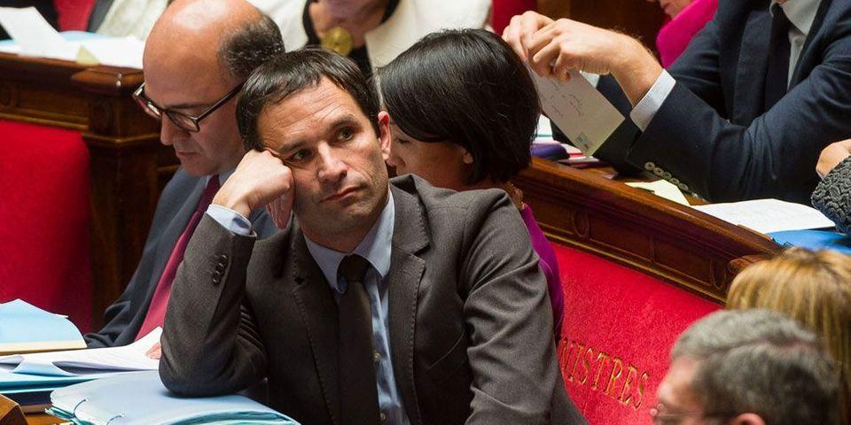 Le malaise (mesuré) de Benoît Hamon quant à la politique économique du gouvernement