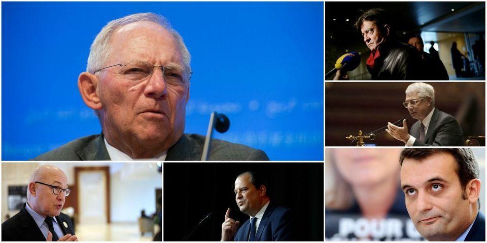 Le ministre des finances allemand, Wolfgang Schäuble, se fait allumer par les socialistes français