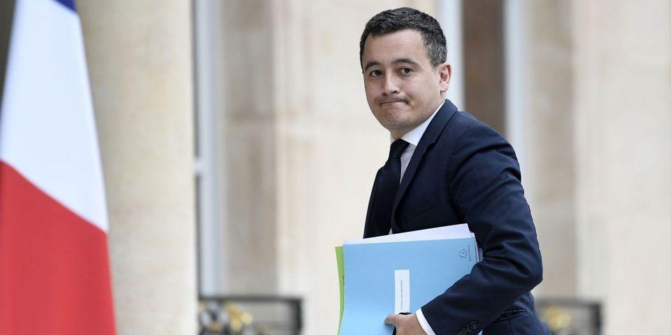 """Le ministre Gérald Darmanin compare son ancien parti LR à """"l'ancien monde"""" : """"On dirait ma grand-mère qui parle en ancien franc"""""""