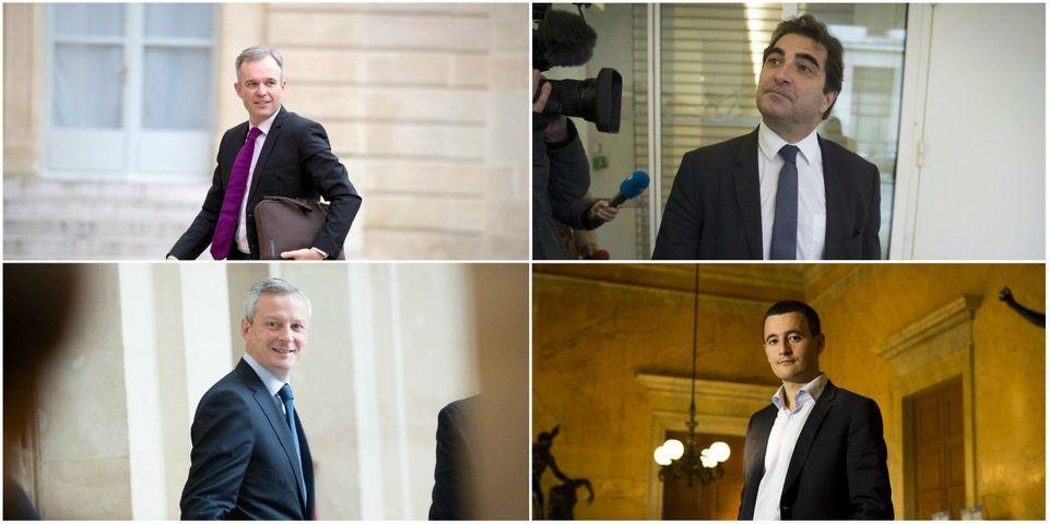 Le multiplex du dimanche 1er octobre avec Jacob, Darmanin, Le Maire et Rugy