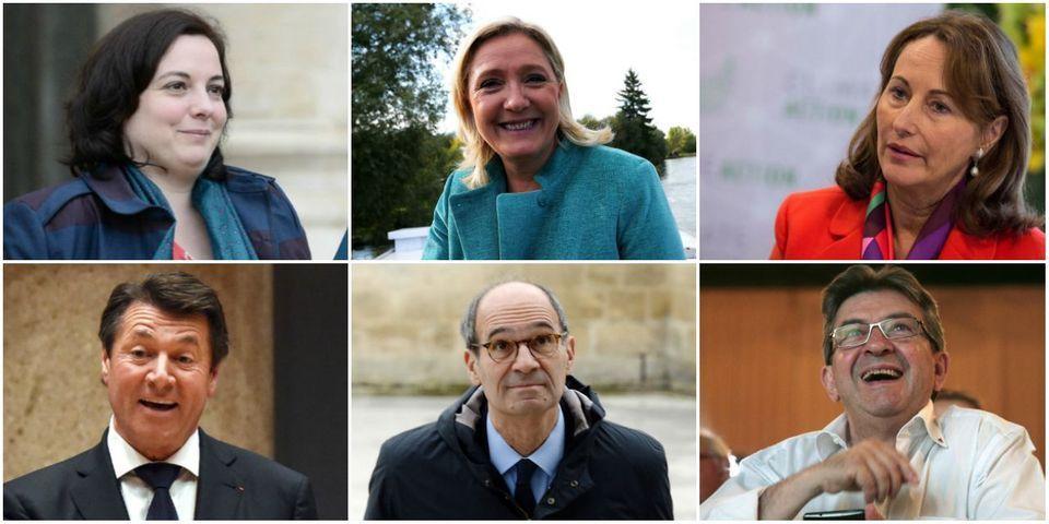 Le multiplex du dimanche 11 décembre avec Marine Le Pen, Jean-Luc Mélenchon, Christian Estrosi, Éric Woerth, Emmanuelle Cosse et Ségolène Royal