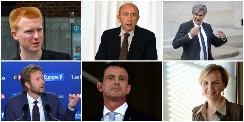Le multiplex du dimanche 17 septembre avec Quatennens, Le Foll, Collomb, Vallaud, Valls et Calmels