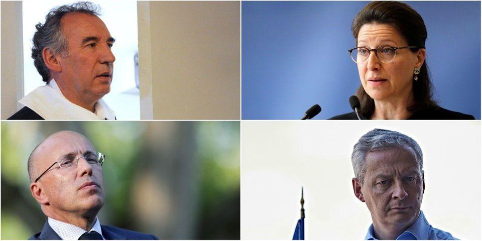 Le multiplex du dimanche 22 octobre avec Bayrou, Buzyn, Ciotti et Le Maire