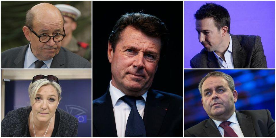 Le multiplex du dimanche soir avec Marine Le Pen, Xavier Bertrand, Jean-Yves Le Drian, Christian Estrosi et Guillaume Peltier