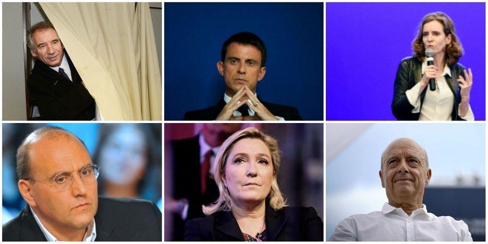 Le multiplex politique du 11 septembre avec Dray, Valls, NKM, Bayrou, Le Pen et Juppé
