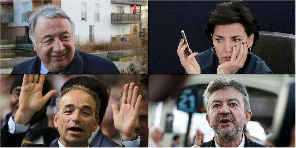 Le multiplex politique du 13 mars avec Gérard Larcher, Jean-François Copé, Rachida Dati et Jean-Luc Mélenchon