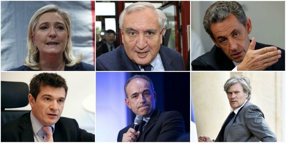 Le multiplex politique du 16 octobre avec Apparu, Le Pen, Sarkozy, Le Foll, Copé et Raffarin