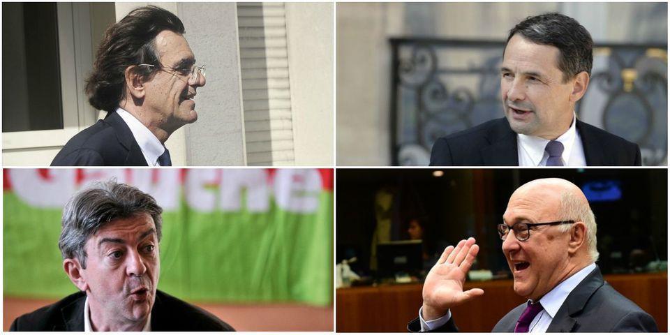 Le multiplex politique du 17 mai avec Michel Sapin, Jean-Luc Mélenchon, Thierry Mandon et Luc Ferry