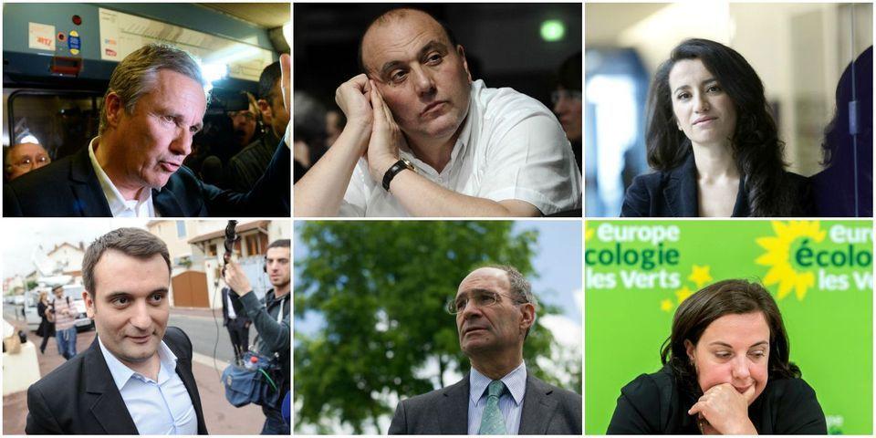 Le multiplex politique du 18 octobre avec Dupont-Aignan, Dray, Guirous, Woerth, Philippot et Cosse