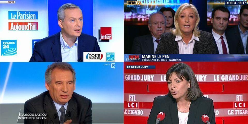 Le multiplex politique du 24 novembre : Marine Le Pen, François Bayrou, Bruno Le Maire et Anne Hidalgo