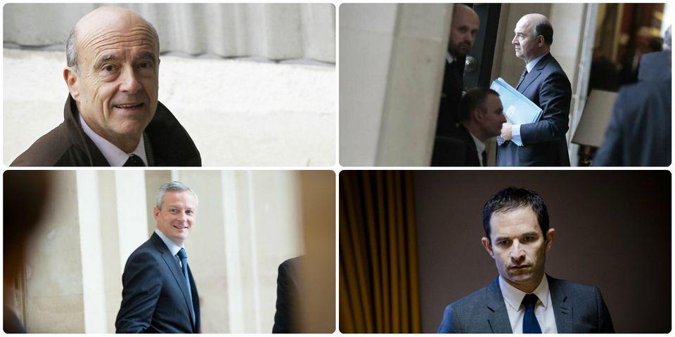 Le multiplex politique du 26 octobre avec Bruno Le Maire, Alain Juppé, Pierre Moscovici et Benoît Hamon