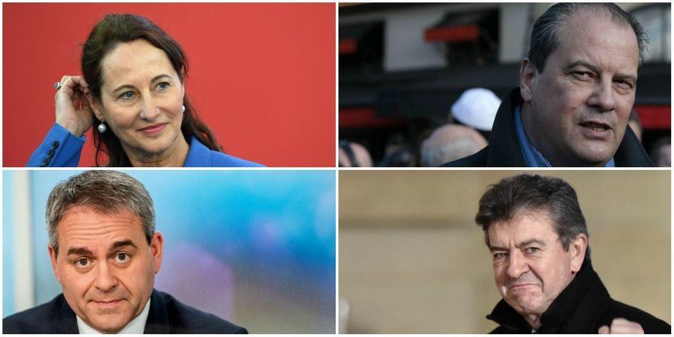 Le multiplex politique du 28 février avec Ségolène Royal, Xavier Bertrand, Jean-Christophe Cambadélis et Jean-Luc Mélenchon