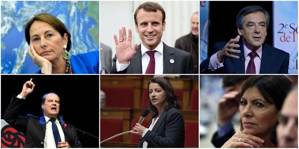 Le multiplex politique du 29 novembre avec Royal, Macron, Fillon, Cambadélis, Duflot et Hidalgo