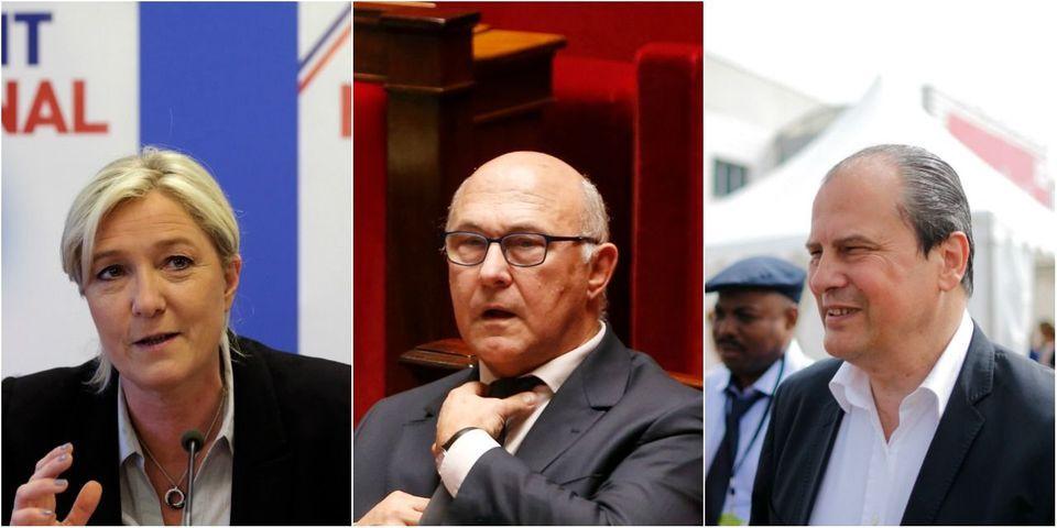 Le multiplex politique du 7 décembre avec Marine Le Pen, Jean-Christophe Cambadélis et Michel Sapin