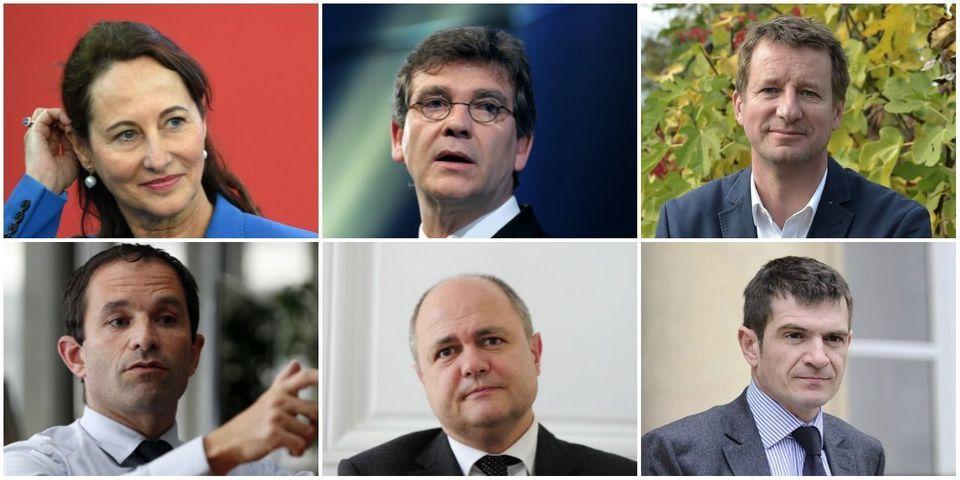 Le multiplex politique du 8 janvier avec Ségolène Royal, Arnaud Montebourg, Benoît Hamon, Yannick Jadot, Bruno Le Roux et Benoist Apparu