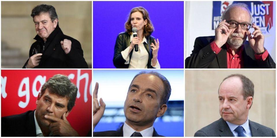 Le multiplex politique du 9 octobre avec Urvoas, NKM, Copé, Montebourg, Mélenchon et Saint Just