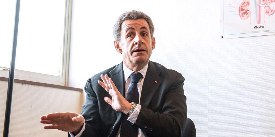 """Le """"noyau dur"""", le """"caillou"""" et les """"ricochets"""" : la petite théorie de Nicolas Sarkozy sur l'électorat de droite"""