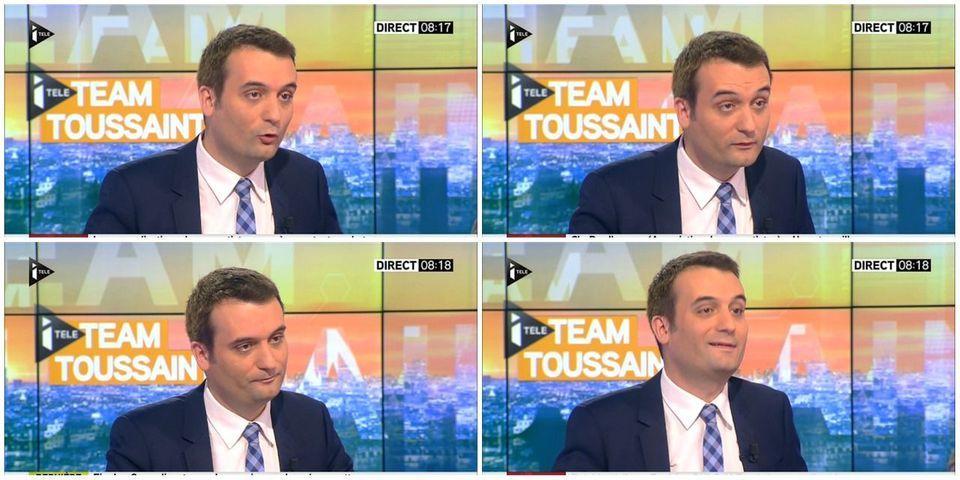 Florian Philippot raille l'interview accordée par Jean-Luc Mélenchon à Closer